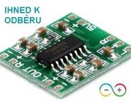 2 kanálový digitální audio zesilovač PAM 8403 (2 x 3W)