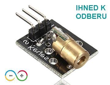 Laser modul Arduino (II)