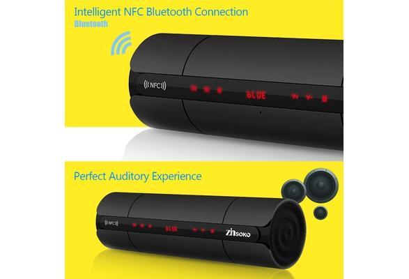 Prenosný reproduktor Bluetooth,LCD,rádio......