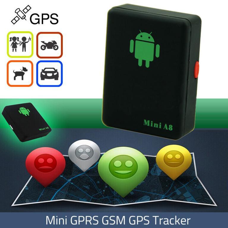 A8 mini Tracker - GPS, GSM lokátor -doprava zdarma, NOVÉ !