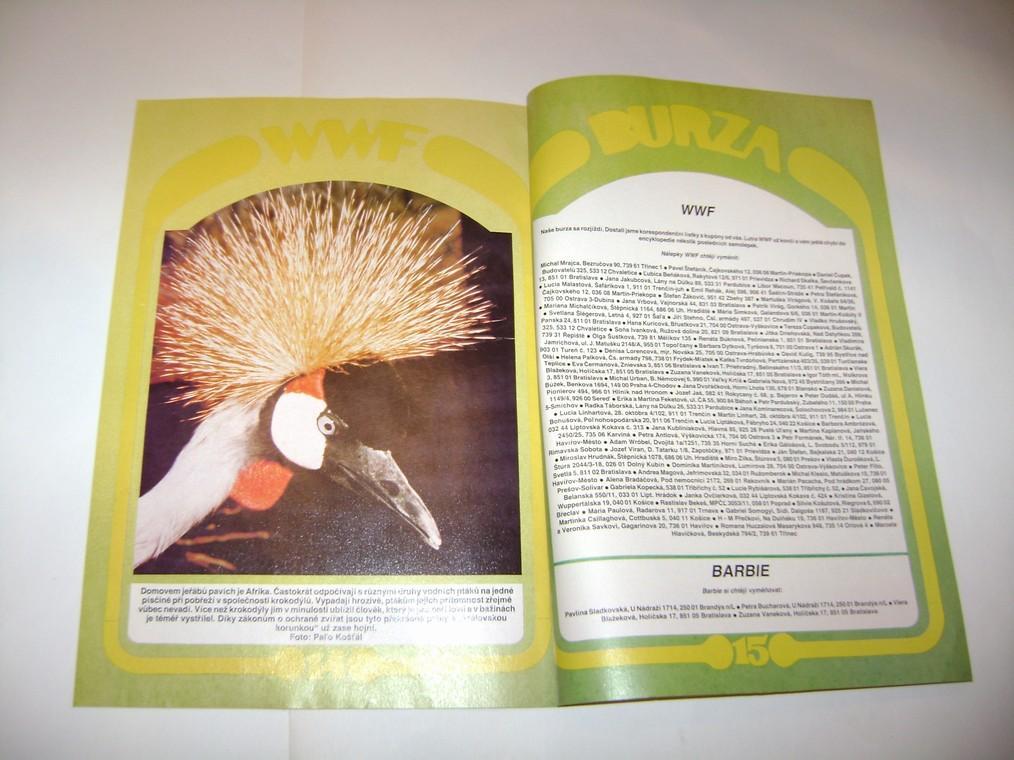 LUTRA - měsíčník pro přátele Lutry, časopis červen 1992, vzadu komiks (A)