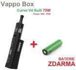 Elektronický Vappo Box Curve V4 Suiti 75W + SILNÁ BATERIE ZDARMA