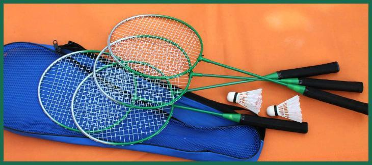 4269 Sada 4 raket na badminton
