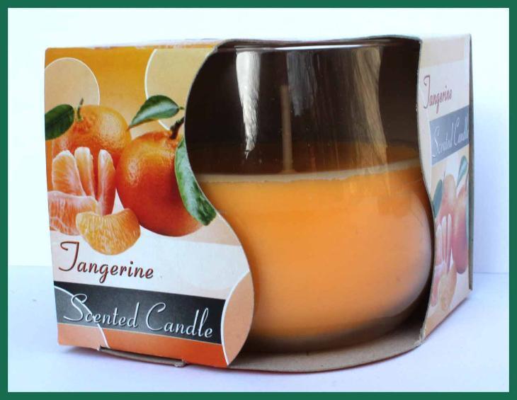4508 Aroma svíčka Aura vůně Janngerine  mandarinka