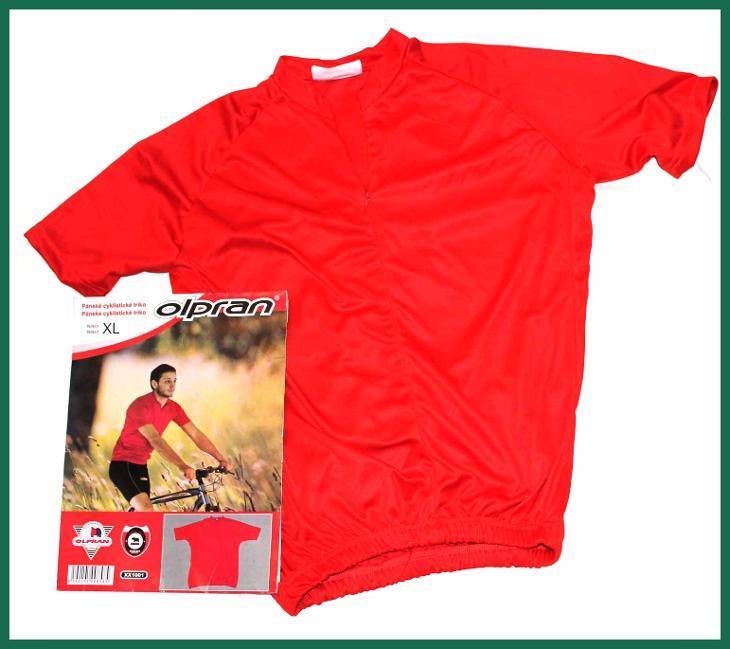 4535 Pánské cyklistické triko Olpran XL
