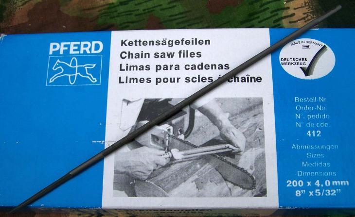 2808 Pilník na broušení řetězů motor.pil - Germany