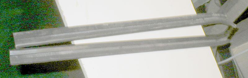 S2869 Na Škoda 1000MB: L a P  těsnicí guma