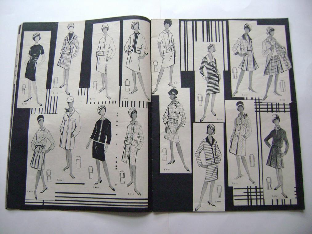ŽENA A MÓDA - 2/1965 - retro - styl (A)
