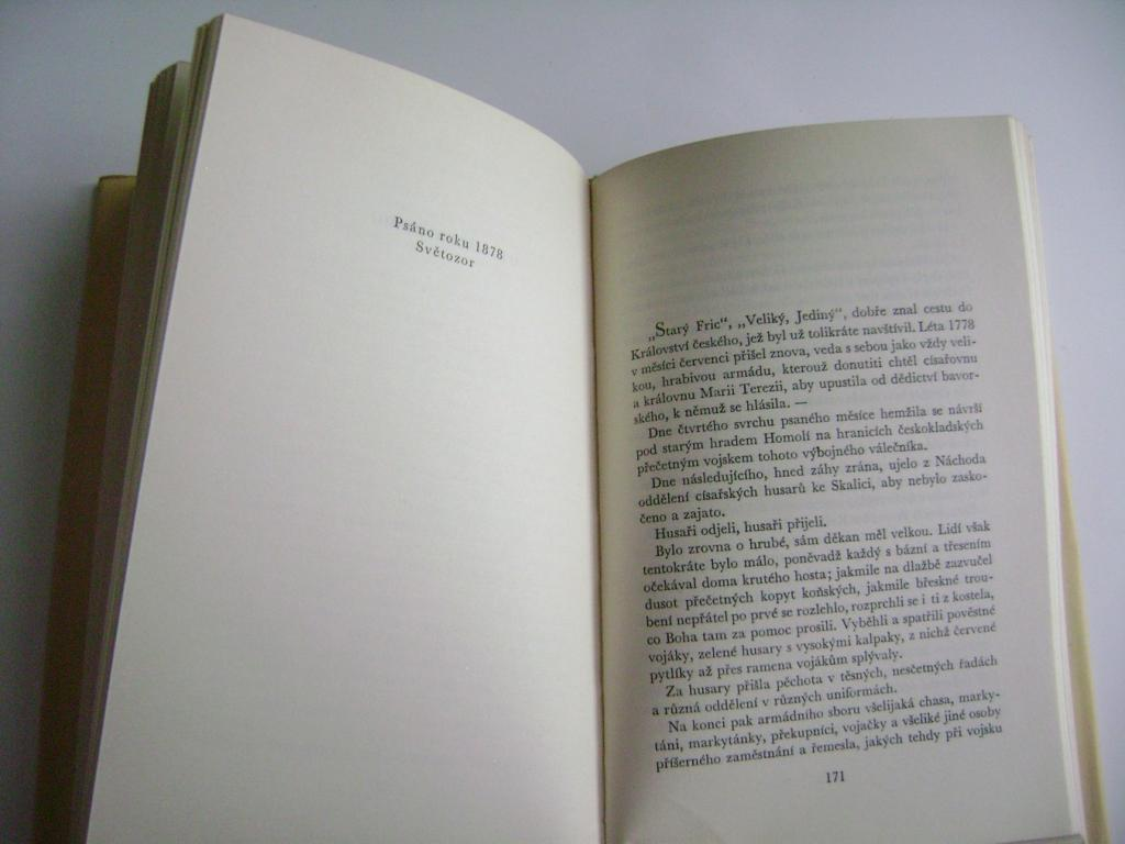 Alois Jirásek: SOUSEDÉ / U DOMÁCÍHO PRAHU (1970) (A)