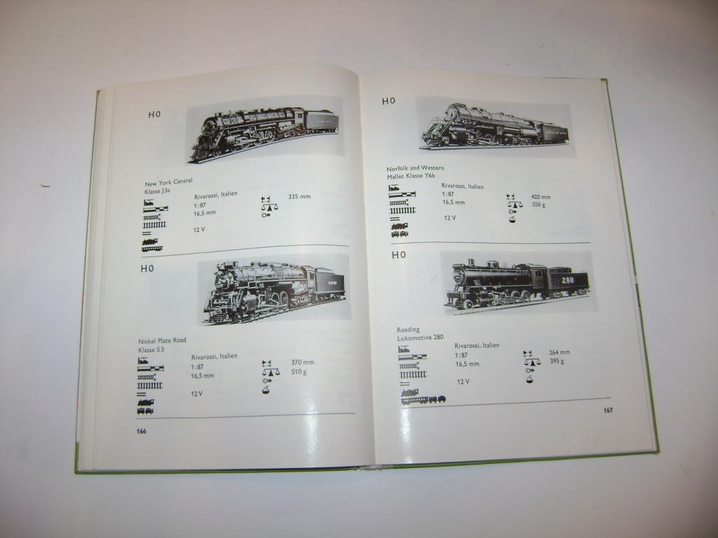 Gerlach: MODELLBAHN-TRIEBFAHRZEUGE - typy lokomotiv (1967) (A)