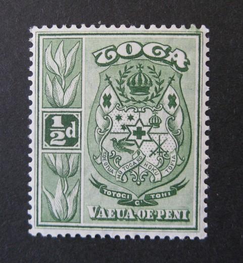 Tonga * - vodoznak psací CA [F37]