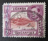 Keňa Uganda Tanganjika - KUT - Perf. 13 x 13½ [G13]
