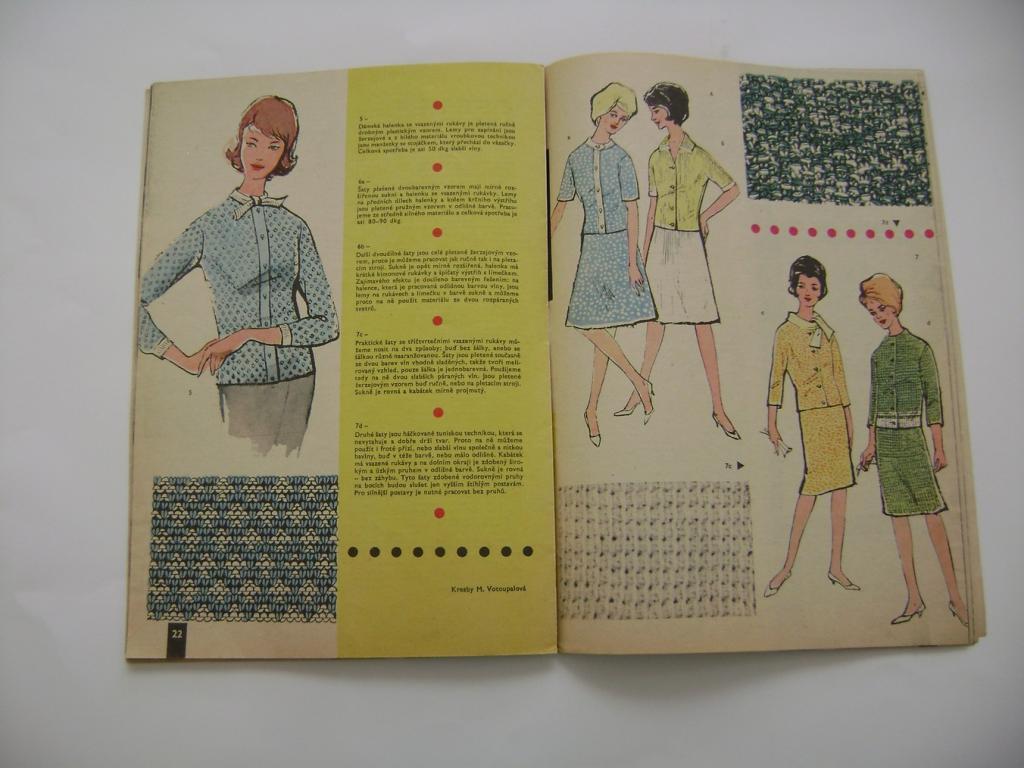 Příručka časopisu Žena a móda 4/1963 (A)