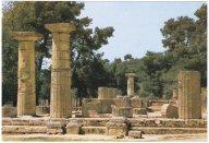 Řecko - Olympia,chrám bohyně Hery
