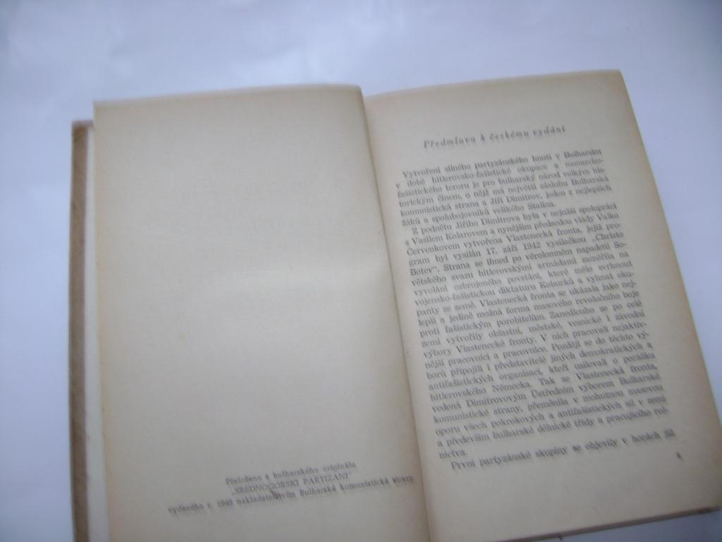 Kosta Lambrev: Partyzáni ze Středohoří (1951) (A)