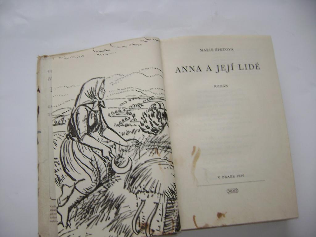 Marie Špetová: Anna a její lidé (1950) (A)