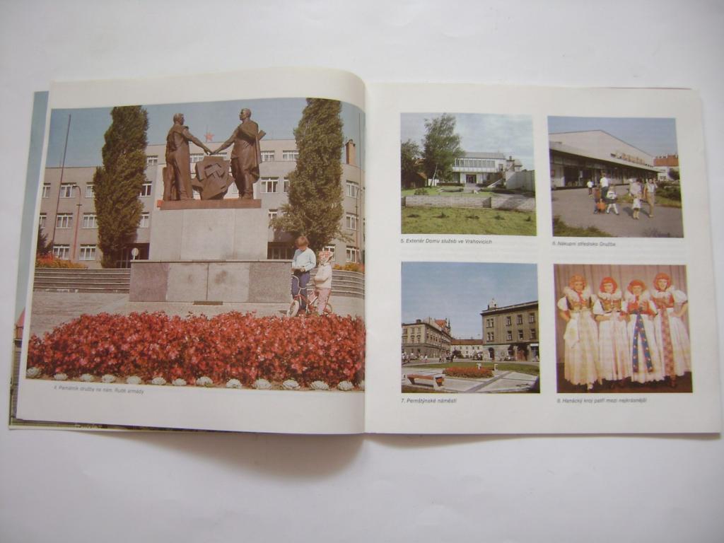 Prostějov zpravodaj MěNV 1987, fotografie (A)